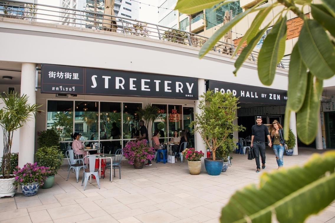 Streetery Food Hall, JLT
